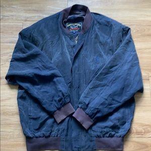 Paul & Shark Italian made 100% pure silk jacket